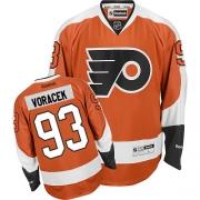 pretty nice 0f4c7 8a9bc Jakub Voracek Jersey, Authentic Flyers Jakub Voracek Orange ...