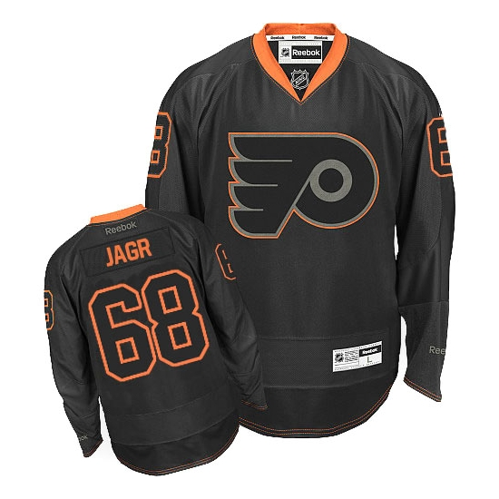 7911cef0c Reebok Jaromir Jagr Philadelphia Flyers Premier Jersey - Black Ice