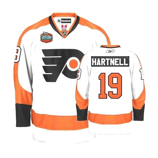 c00a769c0 Reebok Scott Hartnell Philadelphia Flyers Premier Winter Classic Jersey -  White
