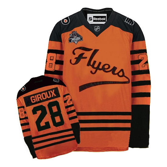 cheap for discount b73a2 6a0f3 Claude Giroux Philadelphia Flyers Authentic 2012 Winter ...