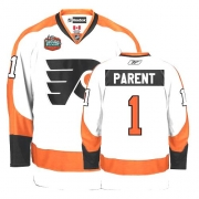 Reebok Bernie Parent Philadelphia Flyers Premier Winter Classic Jersey -  White 603c5585b
