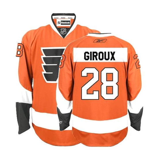 27f6a5db0 Reebok Claude Giroux Philadelphia Flyers Premier Home Jersey - Orange
